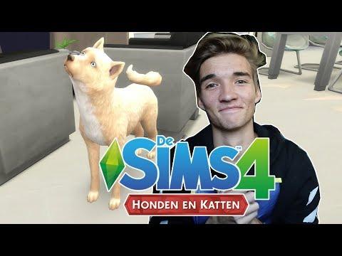 MIJN ALLEREERSTE EIGEN HOND! EINDELIJK IS HET ER! - The Sims 4 #189