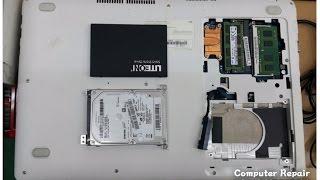 한남동컴퓨터수리 구형 삼성 노트북 업그레이드
