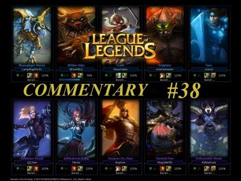 League of Legends 5v5 Commentated by Optii, Michel und Enjoz
