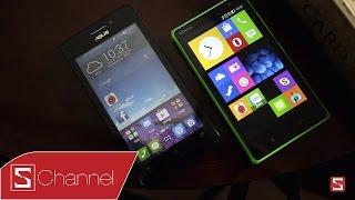 Schannel - So sánh Nokia X2 vs Zenfone 4.5 : Thiết kế, màn hình, hiệu năng ...- Phần 1