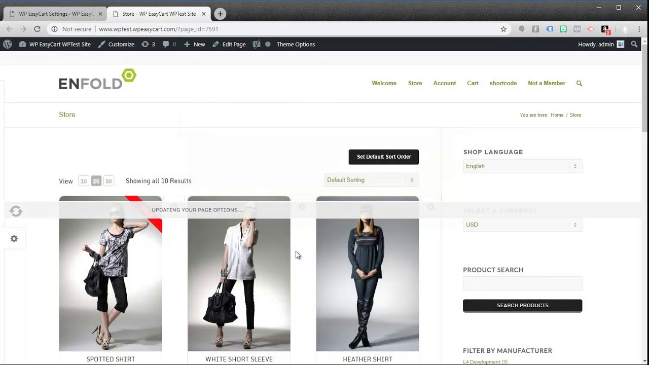 Shopping Cart & eCommerce Store – WordPress plugin
