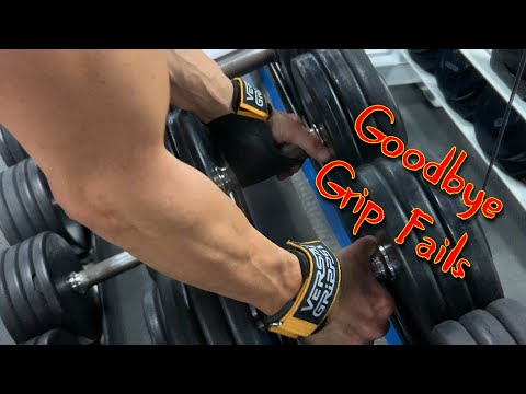 Grip Strength Preventing You From Gaining Muscle? Use Versa Gripps