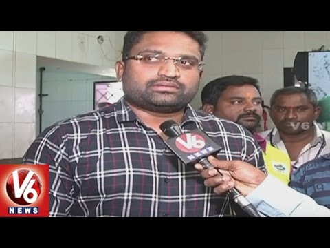 GHMC Food Safety Officers Raids On Hotels And Restaurants In Hyderabad | V6 News