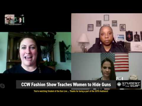 CCW Fashion Show Teaches Women How to Hide Guns?