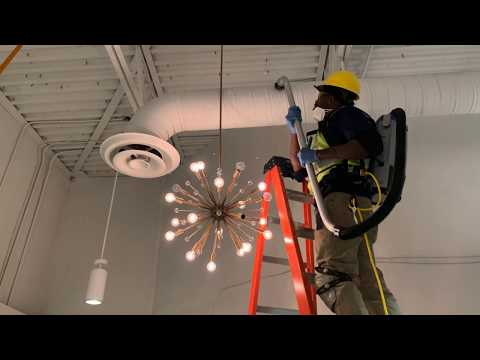 Commercial High Dusting Ceiling Cleaning Services Buckhead GA