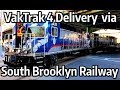 ⁴ᴷ Preparing for the delivery of VakTrak 4 on the South Brooklyn Railway