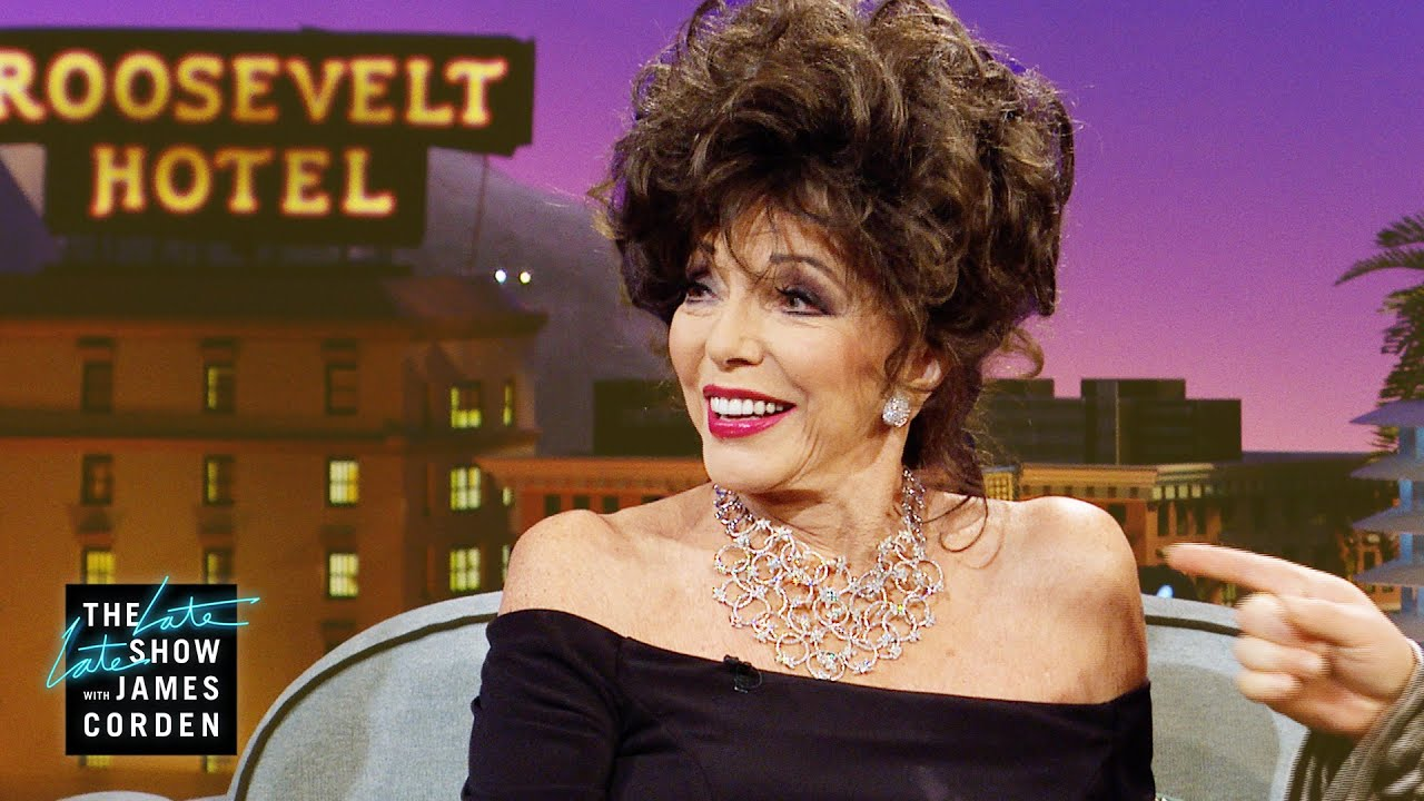 Dame Joan Collins Drops Important Love Advice Youtube
