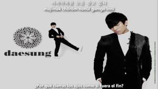 Daesung - Baby Don´t Cry [Sub Español + Hangul + Romanización]