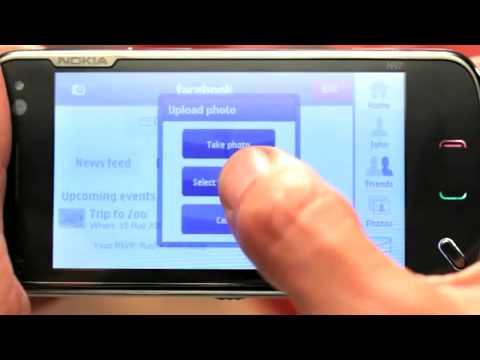 Nokia N97 Facebook Demo