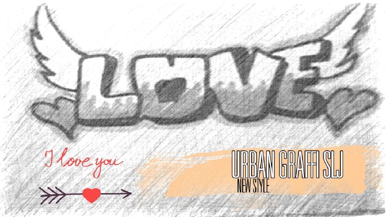 Dibujos De Amor Como Dibujar Graffitis De Amor Como