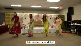 Desi Hot Girls Pakistani Wedding Dance Islamabad on Bollywood song