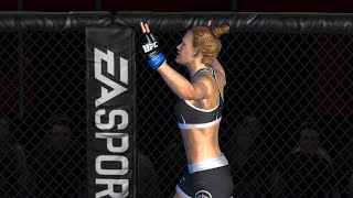 EA SPORTS : UFC android gameplay HOLY HOLM women fight /gaming tips/ online gameplay 1080p