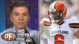 Cleveland Browns' Baker Mayfield using 'Us vs. World' mentality | Pro Football Talk | NBC Sports