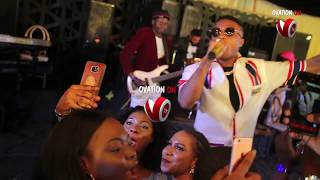 Wizkid live performance at Chief Michael Ade-Ojo,