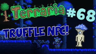 Let's Play Terraria iOS/Android Edition - How to Get the Truffle! - Episode 68