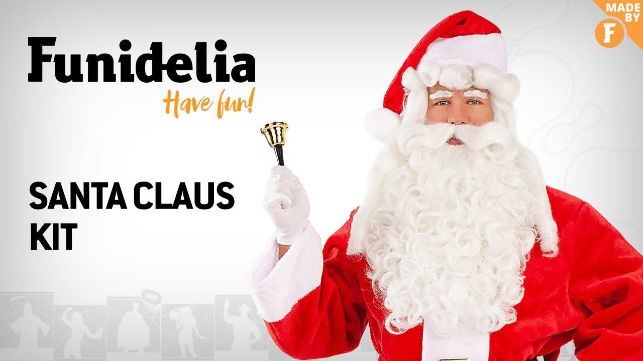 Funidelia santa claus beard and wig - madefunidelia