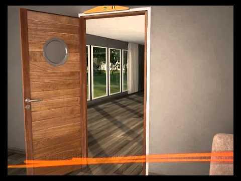 Porte r novation sur mesure paul ceyrac e couliss youtube for Remplacer porte interieur renovation