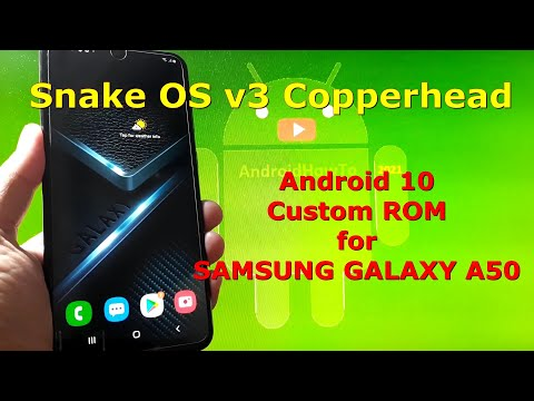 Snake OS v3 Copperhead for Samsung Galaxy A50 Android 10 Custom ROM
