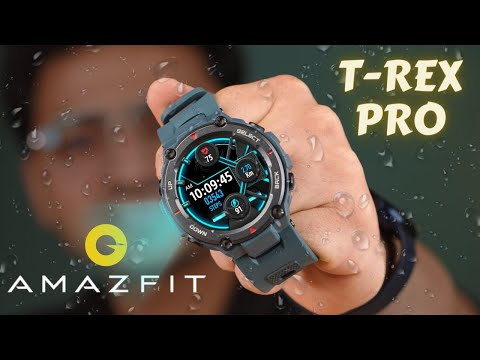 Military grade Smart Watch 🔥   T-Rex Pro Unboxing & Review ⚡️
