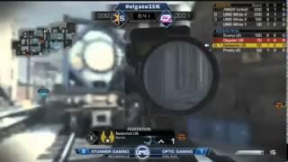 UMG Nashville - OpTic Scump NASTY ACE! vs STUNNER Gaming