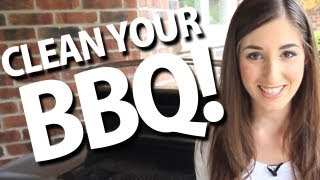 How To Clean Your Bbq! Easy Bbq Cleaning Ideas (clean My Space)
