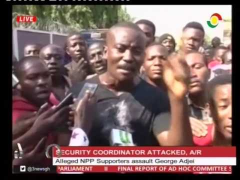 Alleged NPP supported assault  Ashanti Region security coordinator - 24/3/2017
