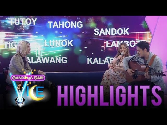 GGV: Vice Ganda, Moira and Jason play a song composing game