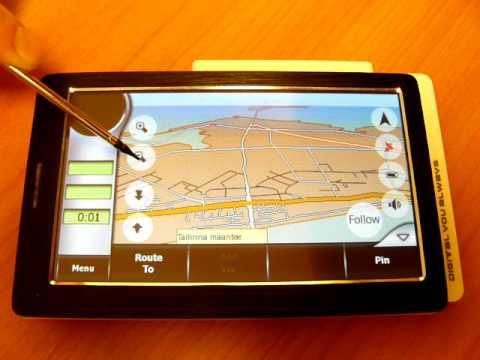 GPS navigational device
