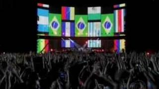 U2 - Where The Streets Have No Name - live TV Brasil 2006