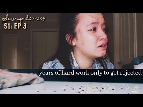 Rejected to my dream college,  Acne Tips + Food Binge | Glow up Diaries Episode 3