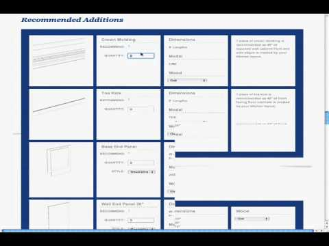 Kitchen Cabinet List Changing The Spec Sheet In Design Software Program