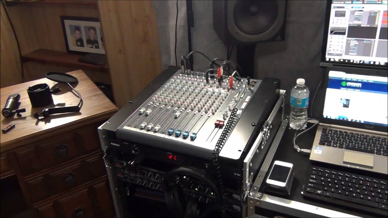 My Home Recording Studio Setup   YouTube