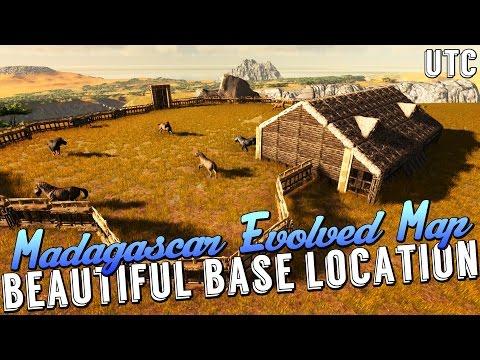 Ark Equus Ranch :: Madagascar Evolved Map Epic Base Location :: Equus Ranch House Build Guide :: UTC