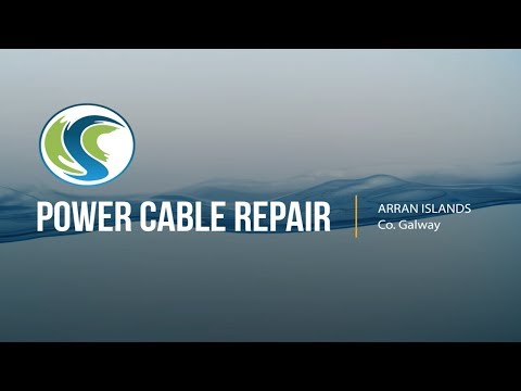 Subsea Power Cable Repair -Arran Islands - Irish Sea Contrac
