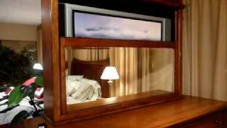 Signature Home Furnishings' Lighthouse Patented Premium Dresser/mirror In Motion