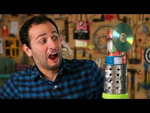 Construa um motor movido a vela (motor stirling)