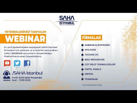 SAHA İstanbul Elektrik Elektronik Komitesi 21.05.2020 part 1  Canlı Yayını