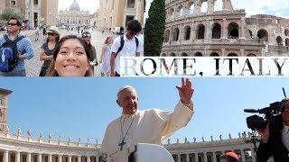 ROME ITALY TRAVEL VLOG
