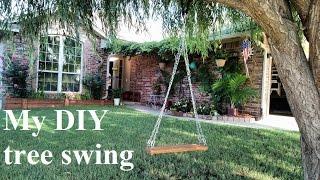 Diy Tree Swing