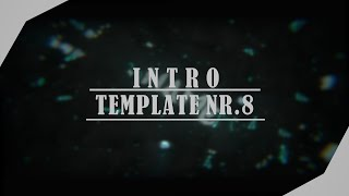 [Template Nr.8] - Free only Blender blacksync intro template by SparrFx| 20 Likes ?