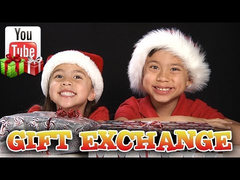 YouTube GIFT EXCHANGE (Part 2) Present Unwrapping!!! EvanTubeHD, KittiesMama, Bratayley!