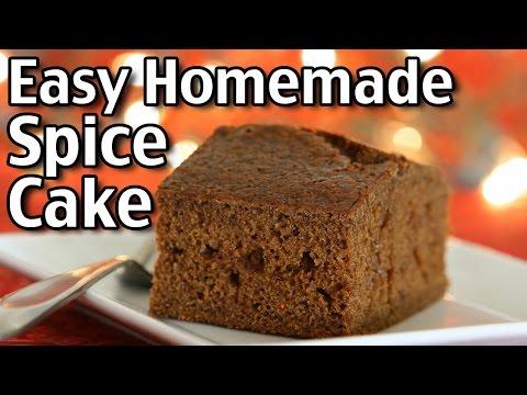 Easy Homemade Spice Cake