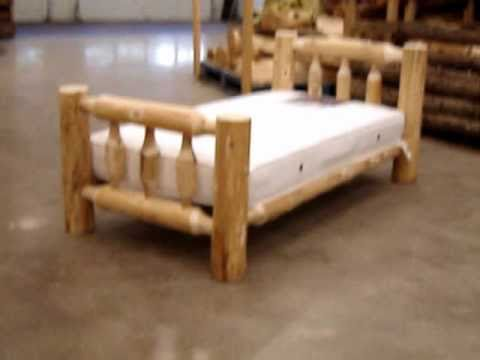 The Log Furniture Showcase Our Toddler S Bed