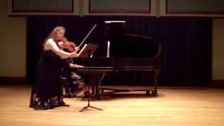 Sheila Browne plays George Rochberg Sonata for Viola and Piano