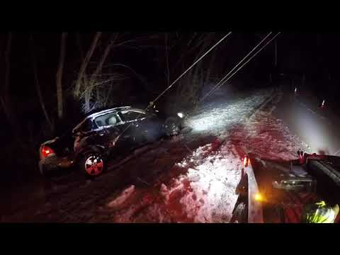 Crashed impala into the ditch