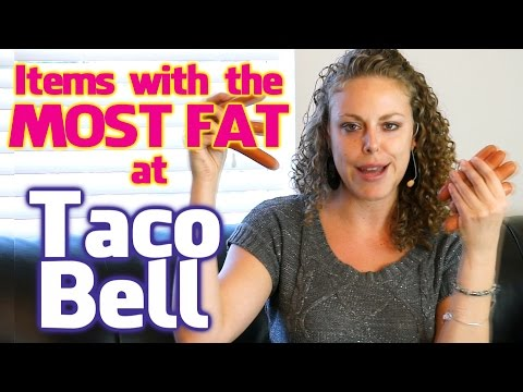 9 Foods to NEVER EAT at Taco Bell, Most Fat, Fast Food, Weight Loss Tips, Health, What NOT to Eat