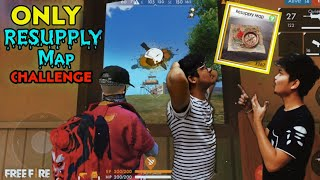 Free Fire Rank Match Resupply - Map Only Weapon Challenge Gone Wrong😶 || Face Cam -TwoSide Gamers