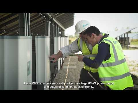 PV inverters for 12MWp Solar PV Power Plant in Mios, France (English)