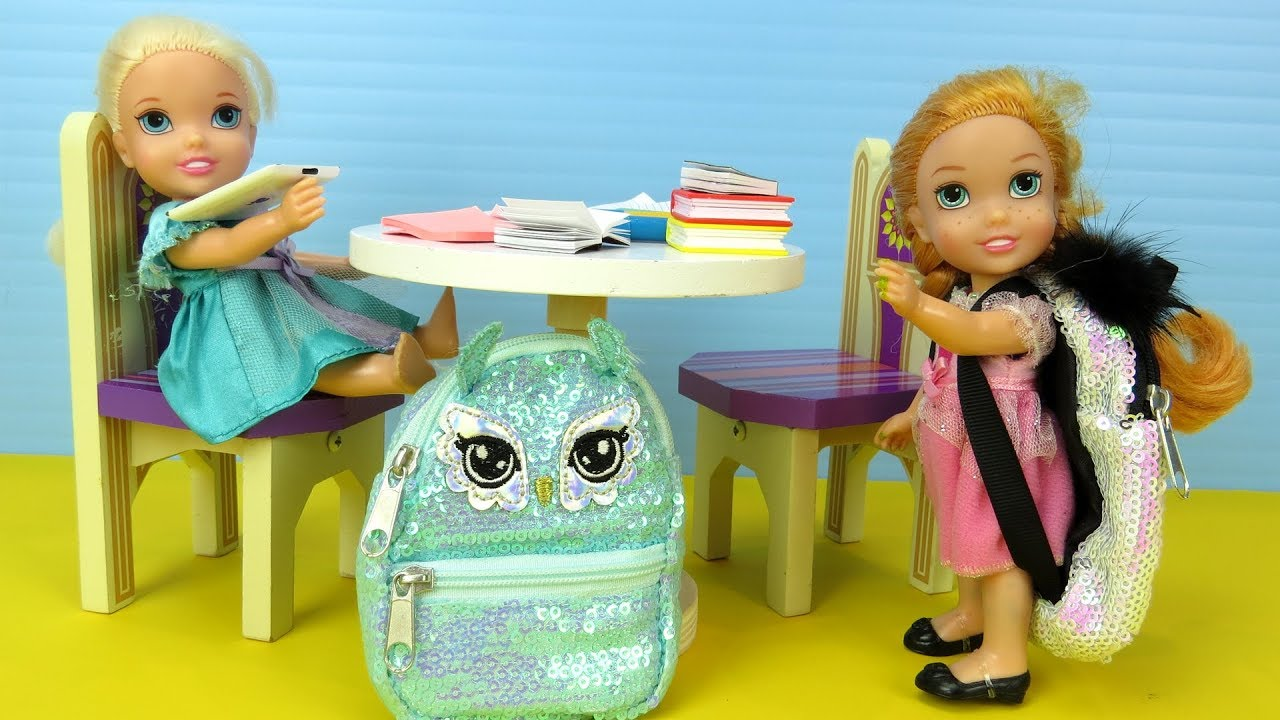 Download STOP wasting time ! Elsa and Anna toddlers - homework - evening routine - dinner
