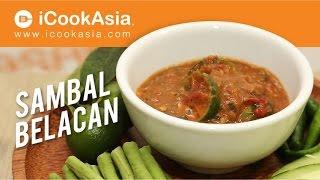 Resepi Sambal Belacan | Try Masak | iCookAsia